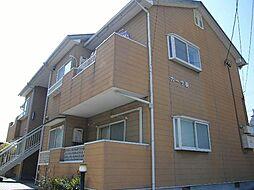 愛知県豊明市栄町大根の賃貸アパートの外観