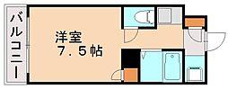 パンルネックス・クリスタル大濠II[7階]の間取り