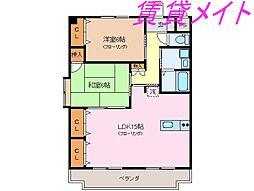 Flower bed[3階]の間取り