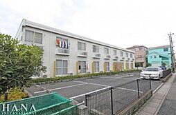 埼玉県八潮市大字中馬場の賃貸アパートの外観