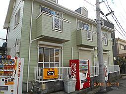 埼玉県草加市小山1丁目の賃貸アパートの外観