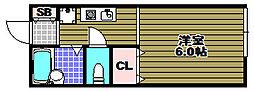 アメニティハイム[2階]の間取り