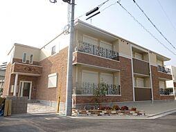 大阪府堺市北区新堀町1丁の賃貸アパートの外観