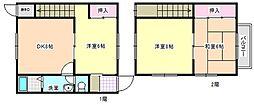 [テラスハウス] 三重県四日市市別名1丁目 の賃貸【/】の間取り