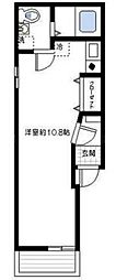 メゾン磯子[3階]の間取り