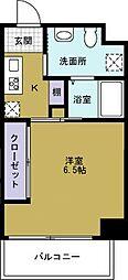 JJ COURT市岡元町[4階]の間取り