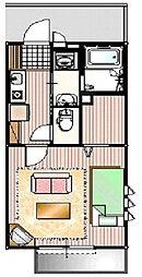 マトバハウス[1階]の間取り