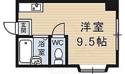 中書島駅 3.5万円