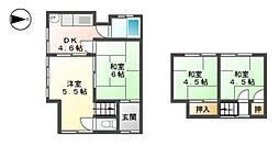 [一戸建] 滋賀県東近江市八日市清水2丁目 の賃貸【/】の間取り