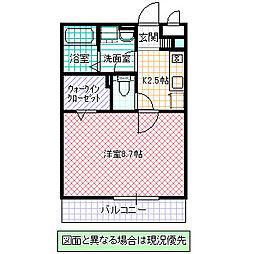 The Ritz TAKANO[303号室号室]の間取り