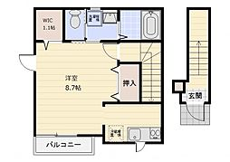 my House[C号室]の間取り