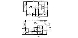 [テラスハウス] 兵庫県西宮市門戸東町 の賃貸【/】の間取り