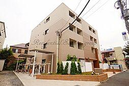 神奈川県藤沢市鵠沼神明5丁目の賃貸マンションの外観