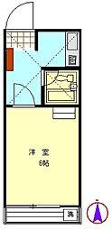 レジデンス小泉[103号室]の間取り