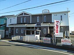 群馬県高崎市足門町の賃貸アパートの外観