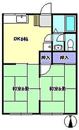 清風ハイツA[101号室]の間取り