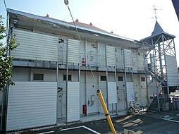 千葉県四街道市物井の賃貸アパートの外観