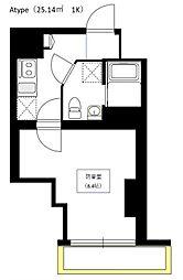 Bel Canto 浅草蔵前[6階]の間取り