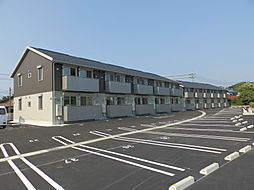 山口県下関市小月本町2丁目の賃貸アパートの外観