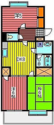 ベアフルート[3階]の間取り