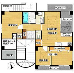 AKビル[6階]の間取り