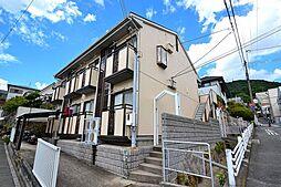 兵庫県神戸市灘区高尾通2丁目の賃貸マンションの外観
