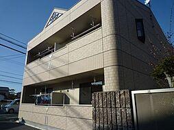 岡山県倉敷市田ノ上の賃貸アパートの外観