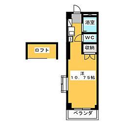 豊田ハイツ B[1階]の間取り