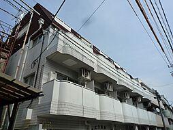 東京都中野区上高田2丁目の賃貸マンションの外観