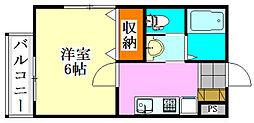 Viss津田沼[1階]の間取り