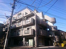東京都北区田端4丁目の賃貸アパートの外観