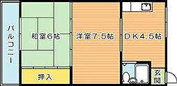 八千代葉山ビル[4階]の間取り