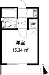 スリージェ桜ヶ丘I[203号室]の間取り