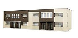 仮)狭山市東三ツ木新築アパート[2階]の外観