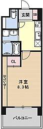 プラネシア京阪出町柳[105号室号室]の間取り