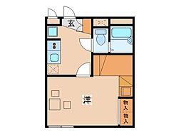 レオパレスFUKUSHIMA[2階]の間取り