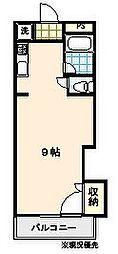アドバンス2[612号室]の間取り