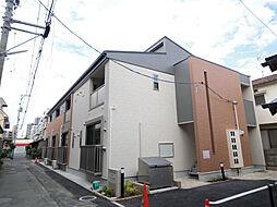 広島県広島市南区皆実町5丁目の賃貸アパートの外観