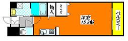 セレンディピティO・V 305号室[3階]の間取り