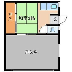 隆起文化[1階]の間取り