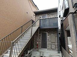 大阪府堺市堺区北三国ヶ丘町8丁の賃貸アパートの外観
