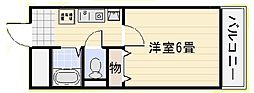 リトゥール澤[906号室]の間取り