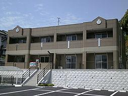 長崎県諫早市栗面町の賃貸アパートの外観