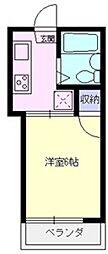 ドリームハイツ上福岡[105号室号室]の間取り