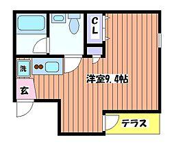 拳山荘[1階]の間取り