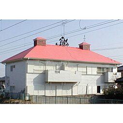茨城県牛久市上柏田1丁目の賃貸アパートの外観