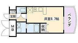 SANKOエグゼクティブアネックス[2階]の間取り