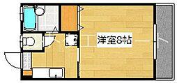クリスタルハーモニー[6階]の間取り