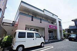 埼玉県草加市新栄2丁目の賃貸アパートの外観