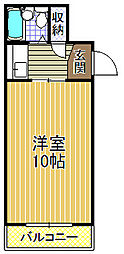 ENDOUマンション[2階]の間取り